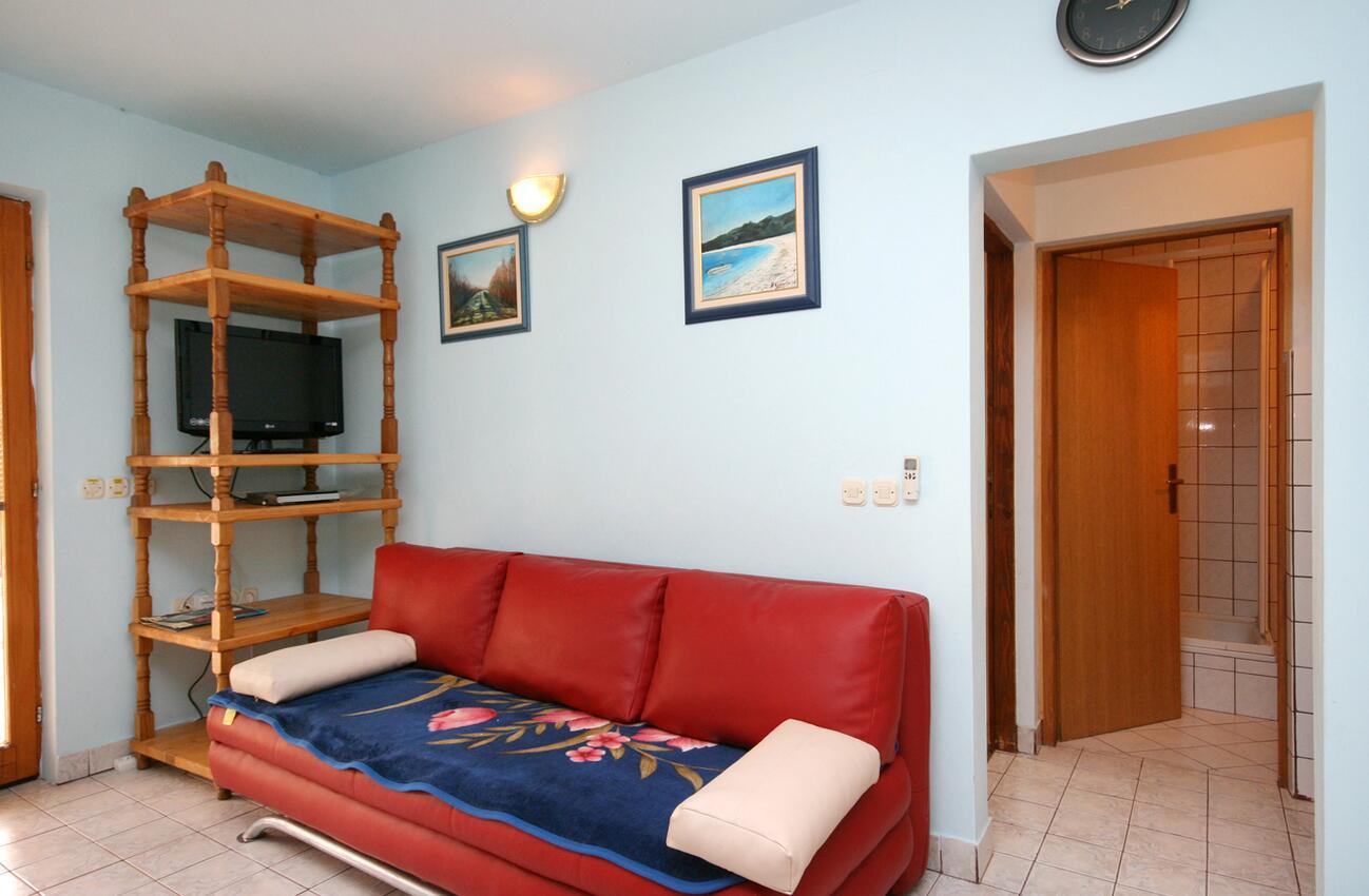 Appartement de vacances im Ort Povile (Novi Vinodolski), Kapazität 2 (1012968), Povile, , Kvarner, Croatie, image 3