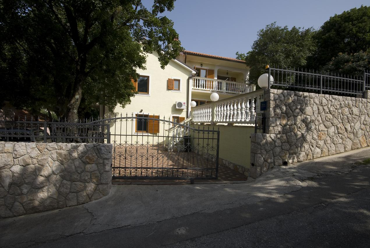 Appartement de vacances im Ort Povile (Novi Vinodolski), Kapazität 2 (1012968), Povile, , Kvarner, Croatie, image 14