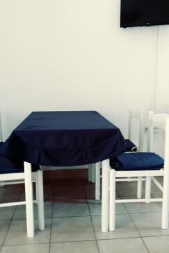Rukavac, Esszimmer in folgender Unterkunftsart apartment, Klimaanlage vorhanden und WiFi.