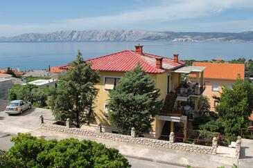 Novi Vinodolski, Novi Vinodolski, Property 2416 - Apartments with pebble beach.