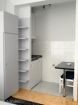 Komiža, Кухня в размещении типа studio-apartment, Домашние животные допускаются и WiFi.