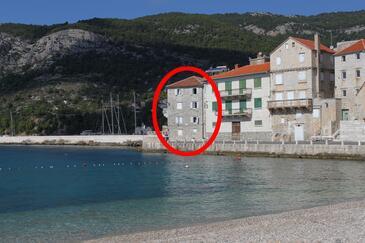 Komiža, Vis, Objekt 2431 - Ubytování v blízkosti moře s oblázkovou pláží.