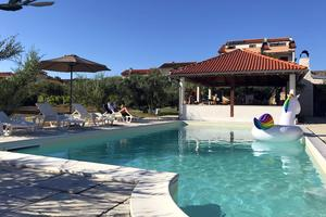 Family friendly apartments with a swimming pool Povljana, Pag - 244