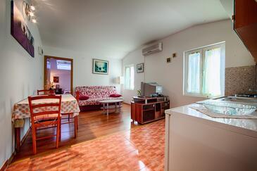 Komiža, Гостиная в размещении типа apartment, доступный кондиционер и WiFi.