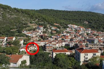 Vis, Vis, Property 2471 - Apartments with pebble beach.