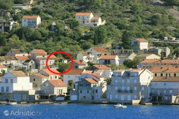 Vis, Vis, Property 2476 - Apartments with pebble beach.