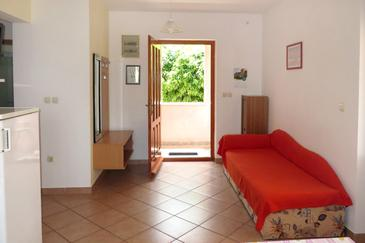Veli Lošinj, Obývacia izba v ubytovacej jednotke apartment, dopusteni kucni ljubimci i WIFI.