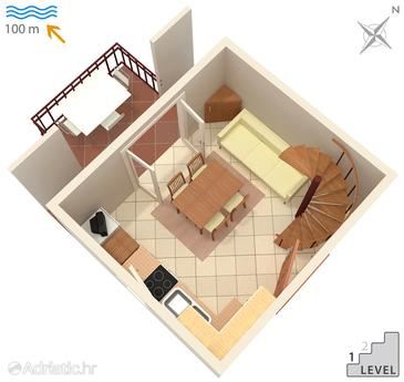Artatore, Plan in the apartment, (pet friendly) and WiFi.
