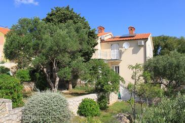 Nerezine, Lošinj, Объект 2518 - Апартаменты с галечным пляжем.