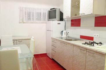 Žuljana, Kuchyně v ubytování typu apartment, WiFi.