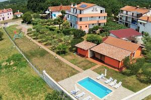 Rodinné apartmány s bazénem Babići (Umag) - 2531