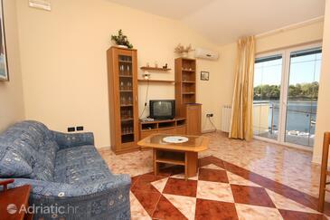 Savudrija, Living room in the apartment.