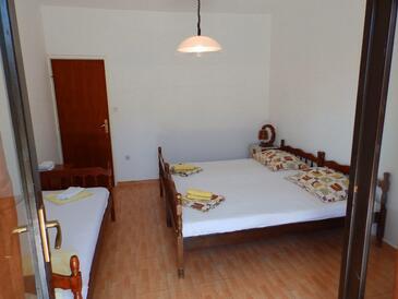 Žuljana, Спальня в размещении типа room, dopusteni kucni ljubimci i WIFI.