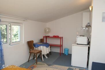 Trpanj, Столовая в размещении типа studio-apartment, Домашние животные допускаются и WiFi.