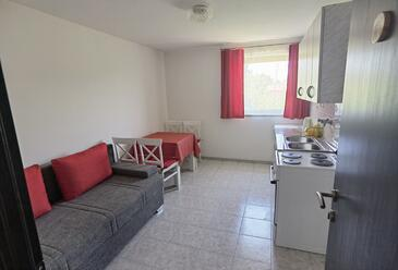 Trpanj, Dining room in the apartment, dopusteni kucni ljubimci i WIFI.