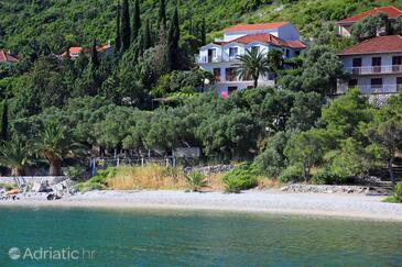 Trpanj, Pelješac, Objekt 258 - Ubytování v blízkosti moře s oblázkovou pláží.