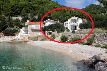 Uvala Jedra, Hvar, Property 2583 - Apartments near sea with pebble beach.