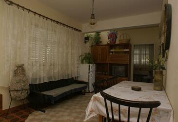 Drašnice, Jídelna v ubytování typu apartment, WIFI.