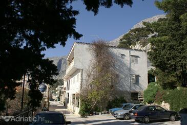 Drašnice, Makarska, Property 2584 - Apartments near sea with pebble beach.
