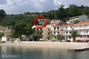 Podgora, Makarska, Property 2593 - Apartments near sea with pebble beach.