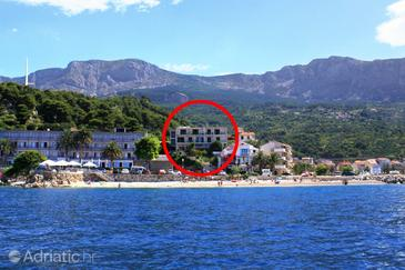 Podgora, Makarska, Property 2601 - Apartments and Rooms near sea with pebble beach.