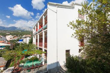 Podgora, Makarska, Property 2604 - Apartments near sea with pebble beach.