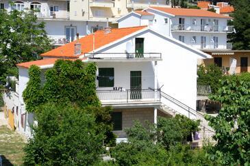 Baška Voda, Makarska, Objekt 2608 - Apartmani blizu mora sa šljunčanom plažom.