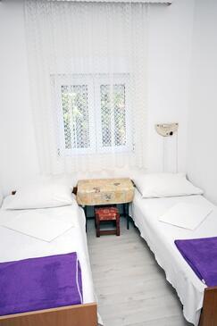 Podaca, Spálňa v ubytovacej jednotke room, WIFI.