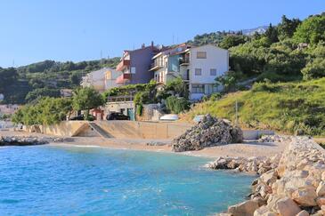Podgora, Makarska, Property 2614 - Apartments near sea with pebble beach.