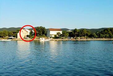 Lovište, Pelješac, Objekt 262 - Ubytování v blízkosti moře s oblázkovou pláží.