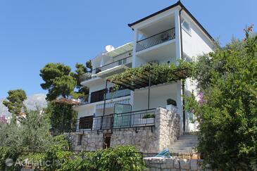 Bratuš, Makarska, Alloggio 2627 - Appartamenti affitto con la spiaggia ghiaiosa.