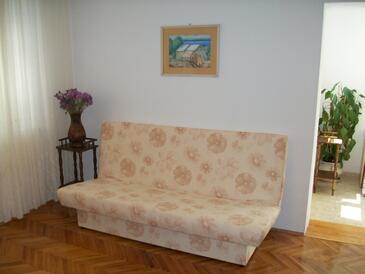 Makarska, Living room in the apartment, WIFI.