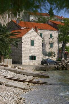 Podaca, Makarska, Obiekt 2647 - Apartamenty przy morzu ze żwirową plażą.
