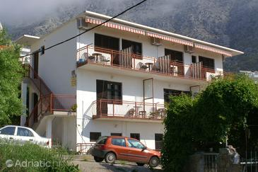Igrane, Makarska, Property 2655 - Apartments and Rooms near sea with pebble beach.