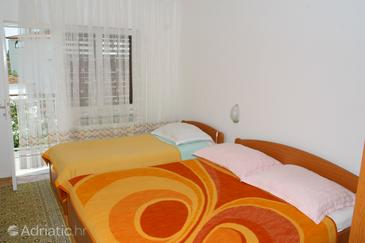 Zaostrog, Ložnice v ubytování typu room, WiFi.