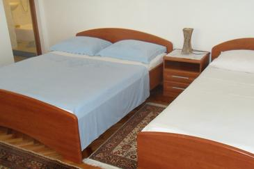 Zaostrog, Спальня в размещении типа room, WiFi.
