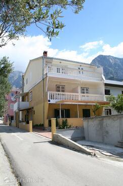 Promajna, Makarska, Alloggio 2674 - Appartamenti affitto vicino al mare con la spiaggia ghiaiosa.
