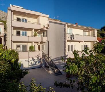 Tučepi, Makarska, Objekt 2677 - Ubytování v blízkosti moře s oblázkovou pláží.