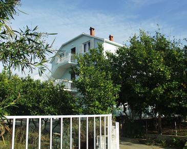 Orebić, Pelješac, Obiekt 268 - Apartamenty przy morzu ze żwirową plażą.