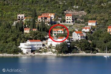 Slano, Dubrovnik, Objekt 2681 - Ubytování v blízkosti moře s oblázkovou pláží.