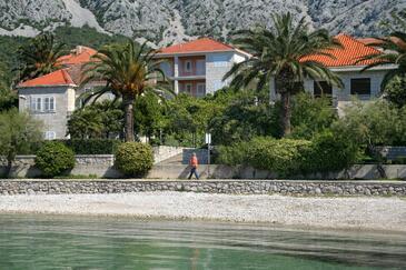 Orebić, Pelješac, Obiekt 269 - Apartamenty przy morzu ze żwirową plażą.