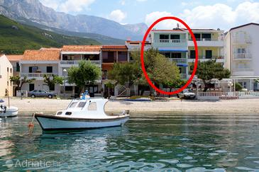 Promajna, Makarska, Property 2690 - Apartments and Rooms near sea with pebble beach.