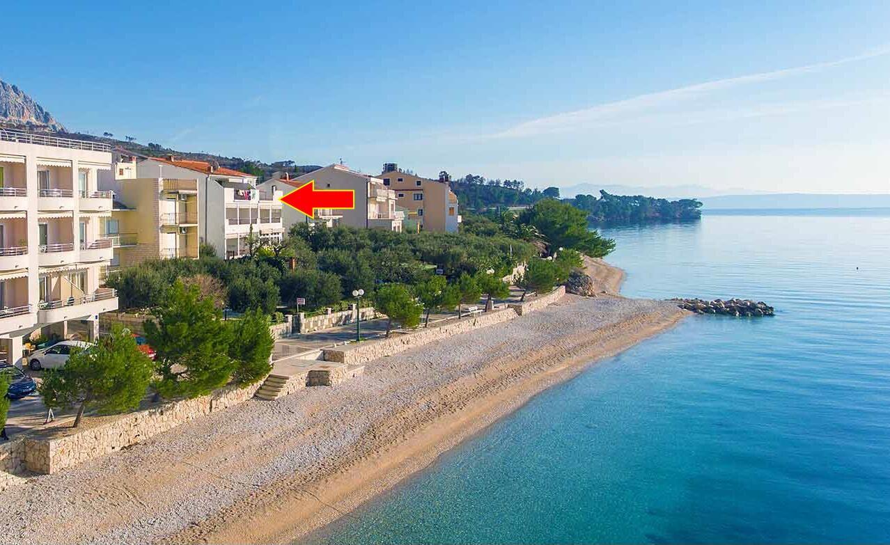Chorvatsko ubytování pro 22 osob
