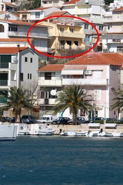 Baška Voda, Makarska, Property 2709 - Apartments with pebble beach.