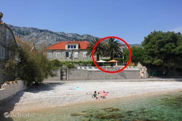 Orebić, Pelješac, Objekt 271 - Ubytování v blízkosti moře s oblázkovou pláží.