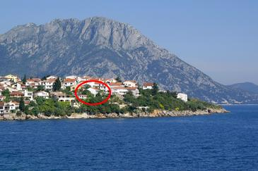 Podaca, Makarska, Property 2711 - Apartments near sea with pebble beach.