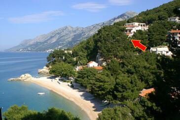 Brela, Makarska, Объект 2713 - Апартаменты вблизи моря с галечным пляжем.