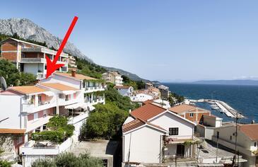 Podgora, Makarska, Объект 2714 - Апартаменты вблизи моря с галечным пляжем.