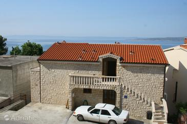 Brela, Makarska, Property 2716 - Apartments and Rooms with pebble beach.