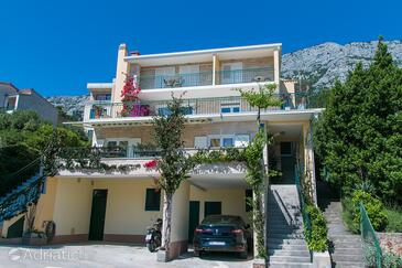 Brela, Makarska, Property 2717 - Apartments and Rooms with pebble beach.